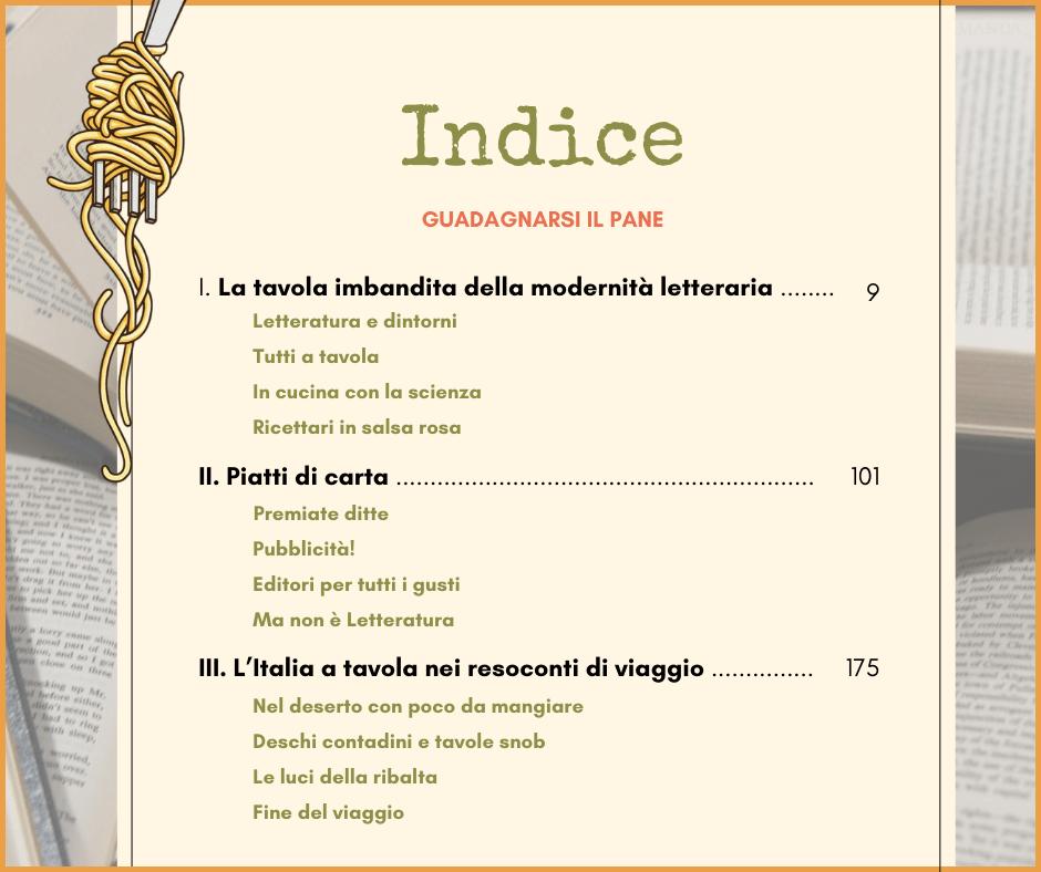 Indice menù